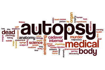 Autopsy word cloud