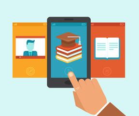 Vector e-learning app
