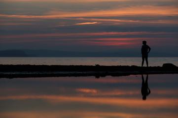 passeggiate in solitudine tra i tramonti norvegesi