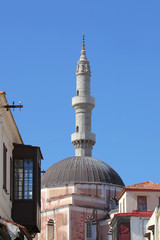 Suleiman Moschee in der Altstadt von Rhodos