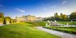Leinwandbild Motiv Schloss Belvedere #3, Wien