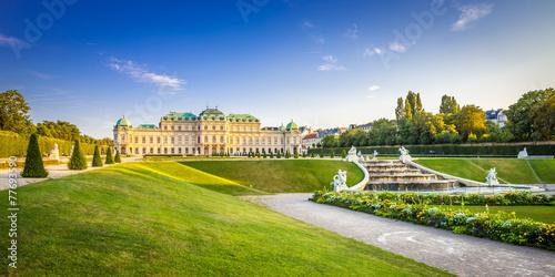 Staande foto Kasteel Schloss Belvedere #3, Wien
