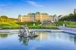 Leinwanddruck Bild - Schloss Belvedere #2, Wien