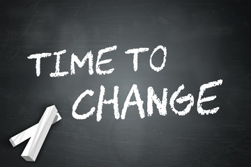 Blackboard Time To Change