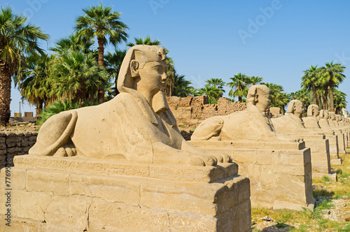 In de dag Egypte The ancient guardians