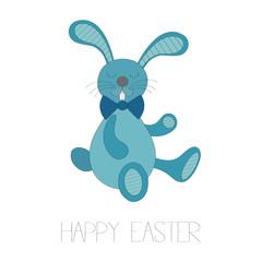 Happy easter vector background
