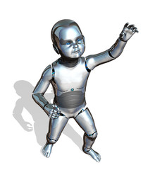 Robot Baby Reaching