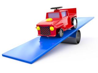 Toy car, 3D