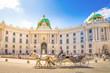 Leinwandbild Motiv Alte Hofburg, Wien