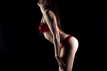 Photo of woman in lingerie