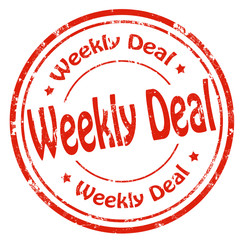 Weekly Deal-stamp