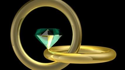 Eméraude et anneaux-Animation