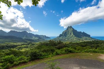Point de vue sur l'île de Moorea
