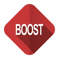 boost flat icon