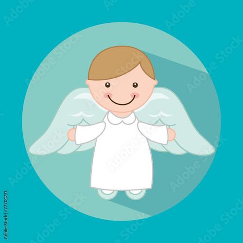 Naklejka cute angel