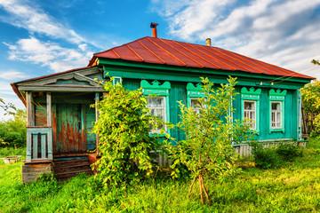 Russian rural house