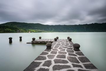 Poesia na Lagoa das Furnas