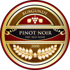 Pinot Noir Label
