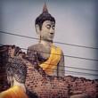 canvas print picture - Ayutthaya