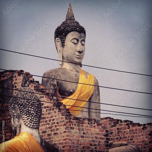 canvas print picture Ayutthaya