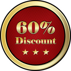 Sixty Percent Discount