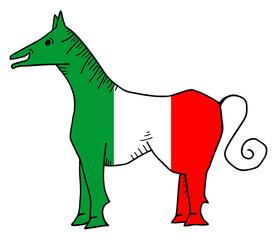 Italy horse