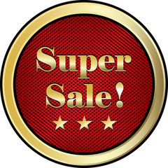 Super Sale Label