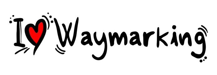 Waymarking love