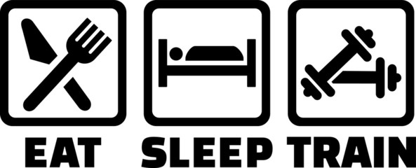 Eat Sleep Train Bodybuilding