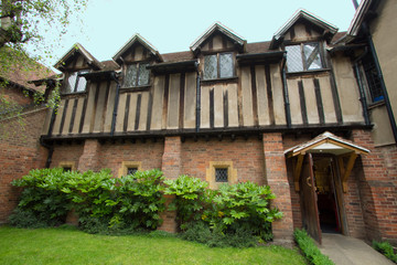 Shakespeare's birthplace at Stratford upon avon