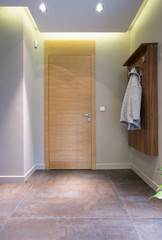 Small anteroom in detached house