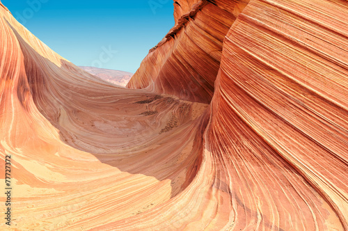 Plateau the Wave, Coyote Buttes North, Utah