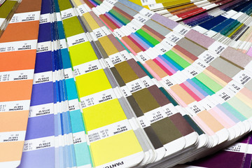 Close up Plenty of Pantone Color Guide