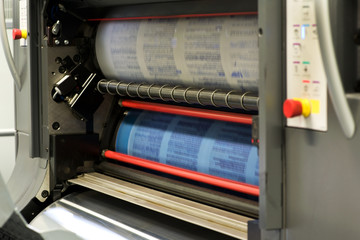 Printing Documents Using Rotary Press Machine