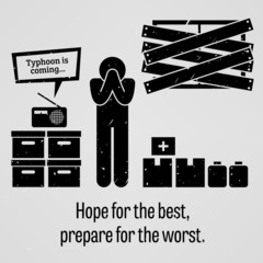 Hope for the Best Prepare for the Worst Proverb