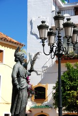Saint Bernard statue, Marbella © Arena Photo UK