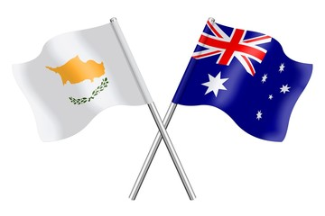 Flags: Cyprus and Australia