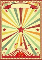 Multicolor circus vintage sunbeams background