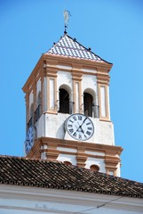 Church tower, Marbella © Arena Photo UK