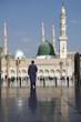 Leinwandbild Motiv nabawi mosque madinah
