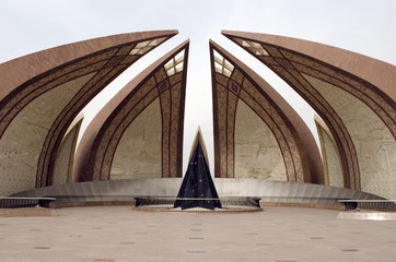 Pakistan Monument front side
