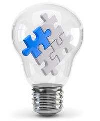 Glühbirne puzzle