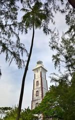 TAHITI  : PHARE DE LA POINTE VENUS