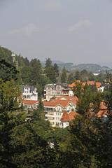 Blick vom Burgberg auf Bad Harzburg