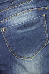 jeans fabric with pocket abstract background