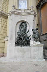 Monumento ai caduti della pima guerra mondiale, Budapest.