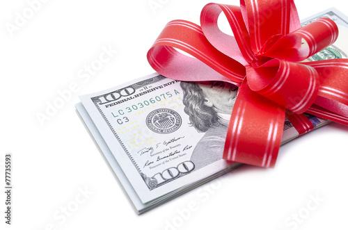 Fotobehang Edelsteen Money gift.
