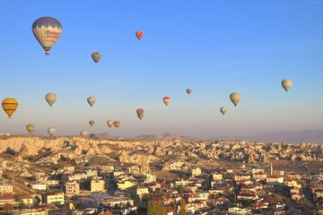 One of the wonders of the world ,Cappadocia, Turkey