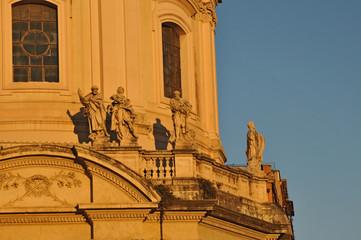 Tramonto romano -   Chiesa SS nome di Maria