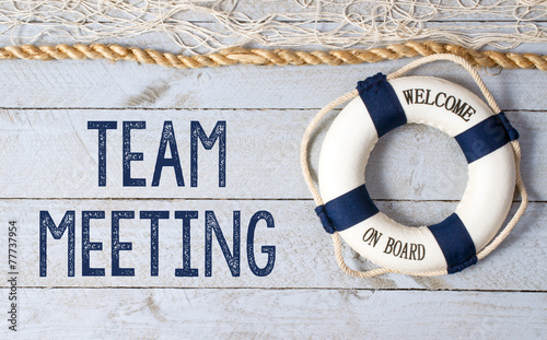 Team Meeting - Welcome on Board - 77737954